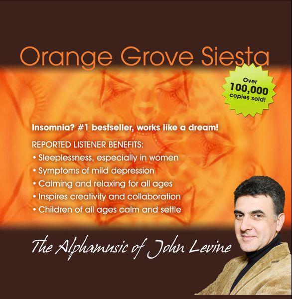 silence of music by John Levine ORANGE Grove Siesta