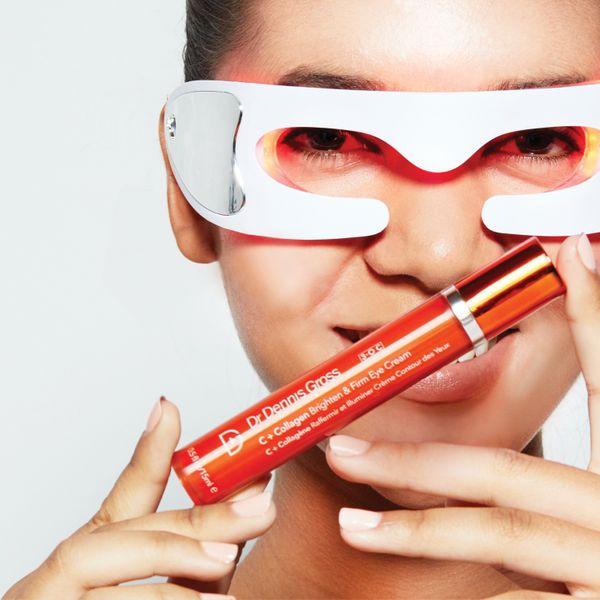 Dr. Dennis Gross Vitamin C + Collagen Brighten & Firm Eye Cream-2